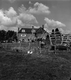 Farley Farm House, Muddles Green, East Sussex, England by Lee Miller